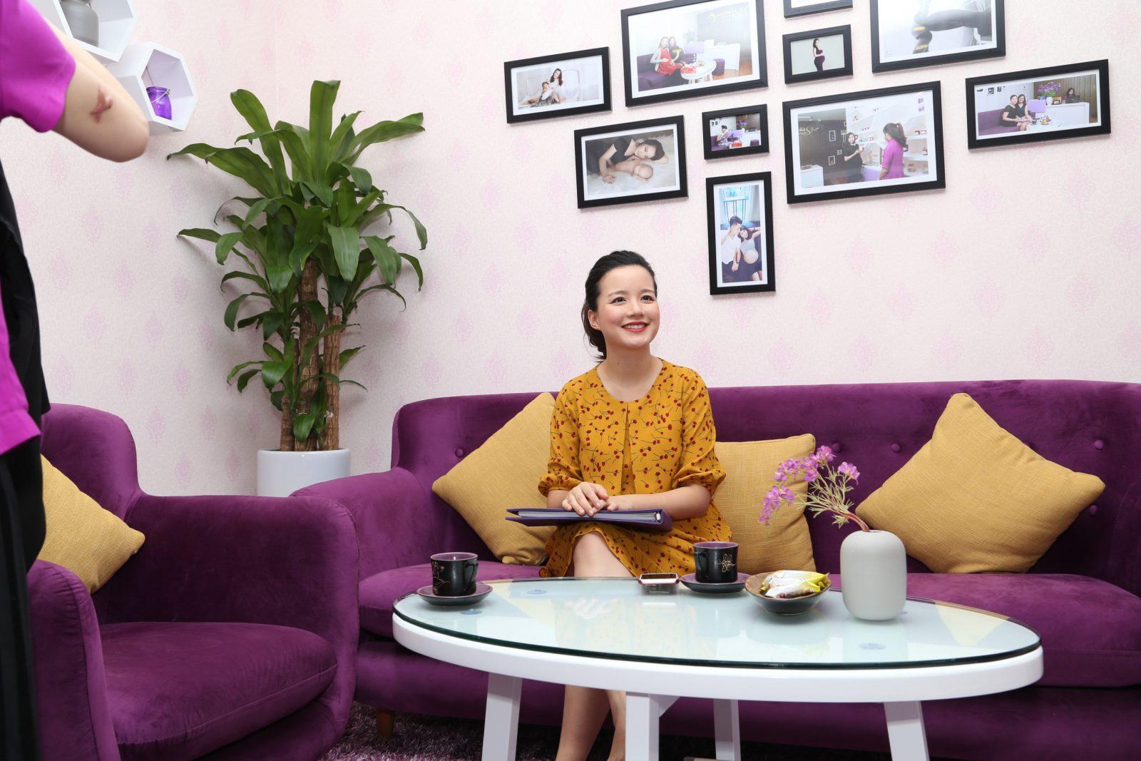 Phỏng vấn MC Minh Trang cách chăm sóc bầu và sau sinh