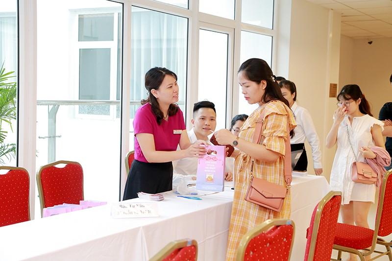 Bảo Hà Spa tham dự hội thảo thai sản tại Vinmec Time City (Hà Nội)
