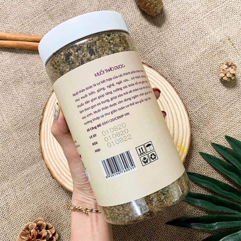 Muối thảo dược (tặng túi đựng muối)