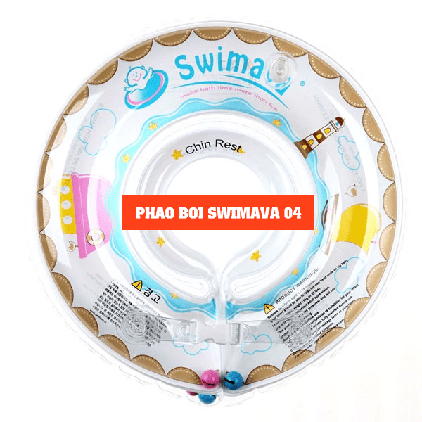 Set phao bơi + quần bơi Swimava chính hãng